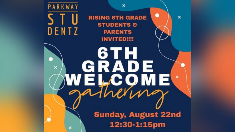 6th Grade Welcome Party