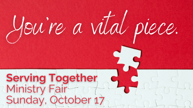 'Serving Togther' Ministry Fair